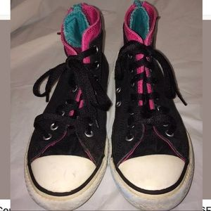 Converse All Star Chuck Taylor Zip Sneakers Size 4